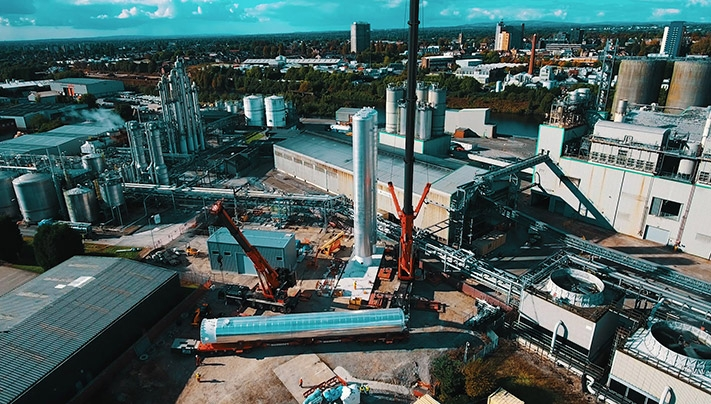 Linde Manchester – Dronenfilm